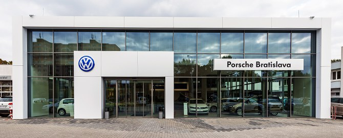 Porsche Bratislava, Dolnozemská