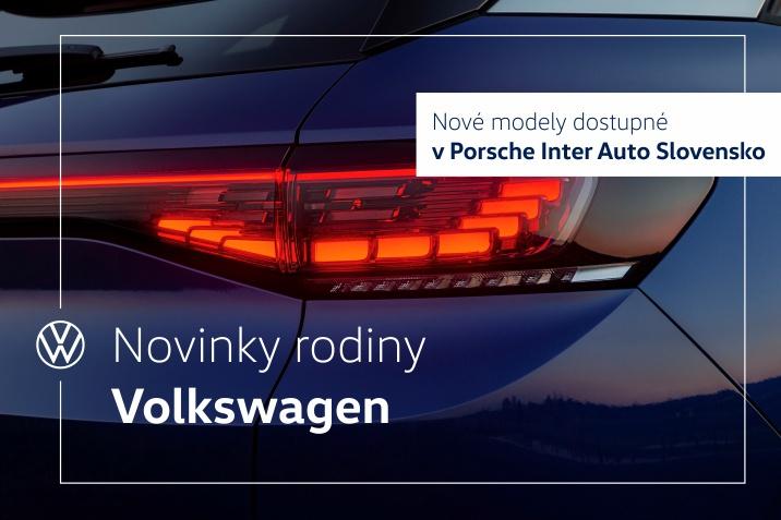 Novinky VW
