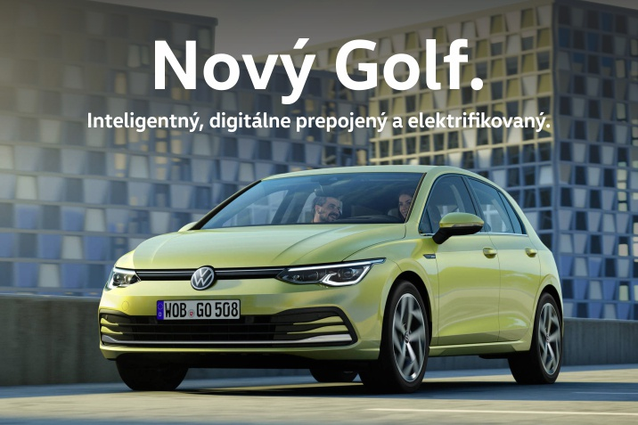 VW nový GOLF
